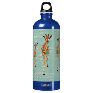 Azure & Amber Giraffes Liberty Bottle SIGG Traveller 1.0L Water Bottle