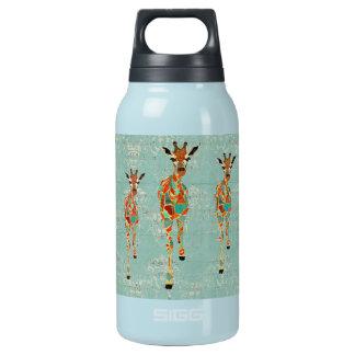 Azure & Amber Giraffes Liberty Bottle 10 Oz Insulated SIGG Thermos Water Bottle