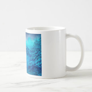 Azure Basic White Mug