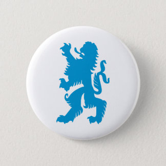 Azure Bavarian Lion 6 Cm Round Badge