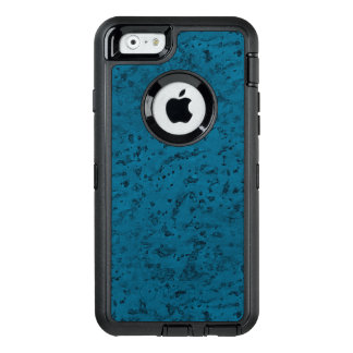 Azure Blue Cork Look Wood Grain OtterBox iPhone 6/6s Case