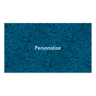 Azure Blue Cork Look Wood Grain Pack Of Standard Business Cards