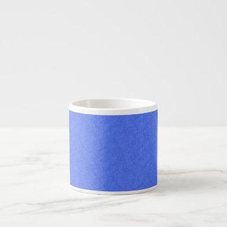 Azure curved shapes espresso mug