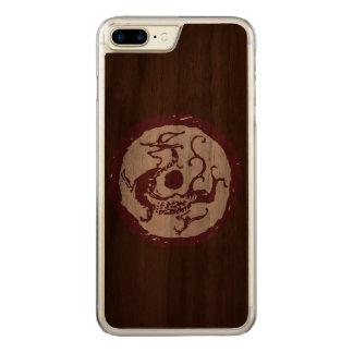 Azure Dragon Carved iPhone 8 Plus/7 Plus Case