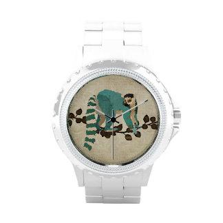 Azure & Gold Lemur Watch
