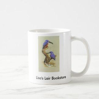 Azure Kingfisher - Ceyx azureus Bookstore Promo Basic White Mug