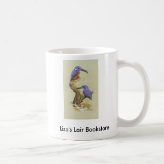 Azure Kingfisher - Ceyx azureus Bookstore Promo Classic White Coffee Mug