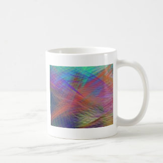 Azure Mountain Majesty Color Abstract Coffee Mug
