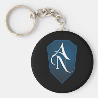 Azure Noir Keychain