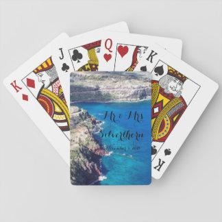 Azure Ocean Playing Cards
