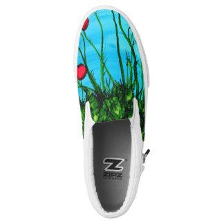 Azure Slip-On Sneaker