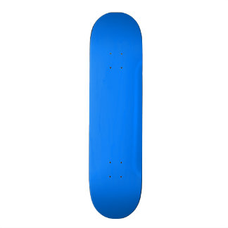 Azure Solid Color Customize It Skateboard Deck