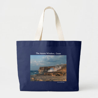 Azure Window, Gozo tote bag