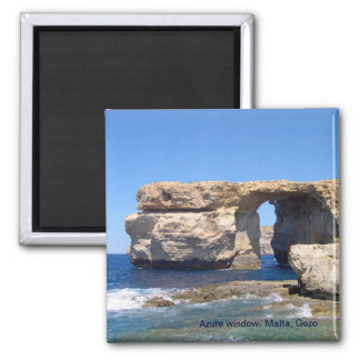Azure Window in Gozo, Malta Magnet