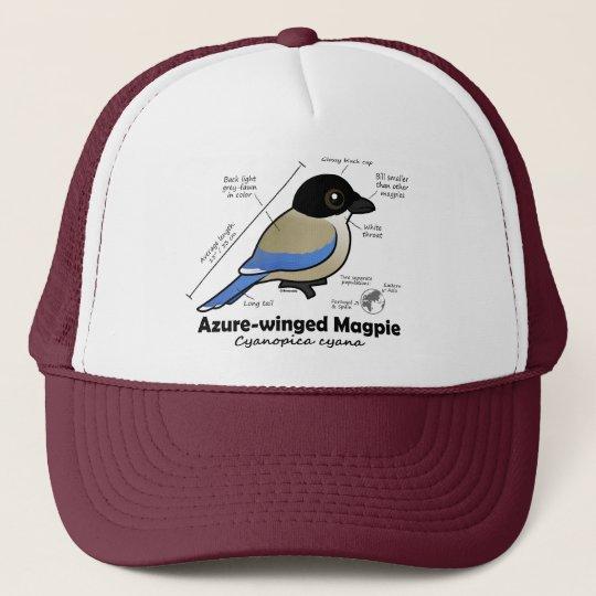 Azure-winged Magpie Statistics Cap