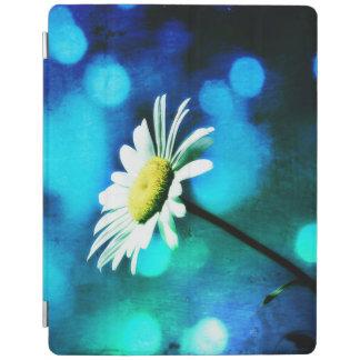 Azurite Malachite Daisy iPad Cover