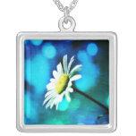 Azurite Malachite Daisy Necklace Necklaces