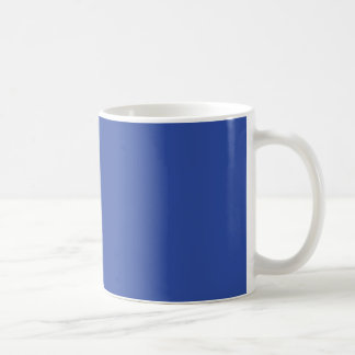 Azurite Royal Blue Personalized Trend Background Coffee Mug