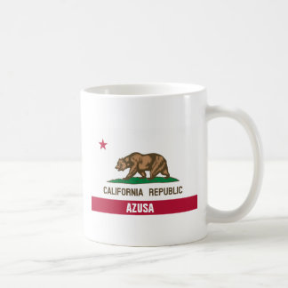 Azusa California Basic White Mug