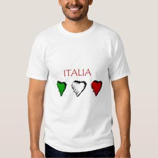 Azzurri Italia Italy 2014 Soccer World Cup Brazil Shirts