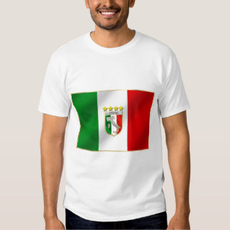 Azzurri Italia Italy 2014 Soccer World Cup Brazil T-shirt