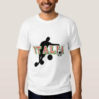 Azzurri Italia Italy 2014 Soccer World Cup Brazil T Shirts