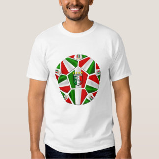 Azzurri Italia Italy 2014 Soccer World Cup Brazil Tee Shirts