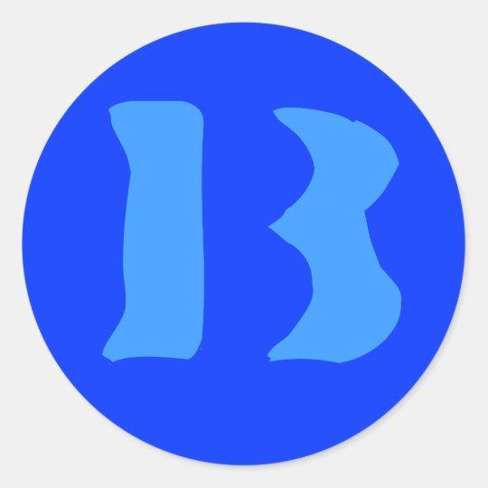 B13 Sticker