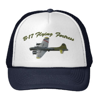 B17 Flying Fortress WWII Bomber Airplane Cap