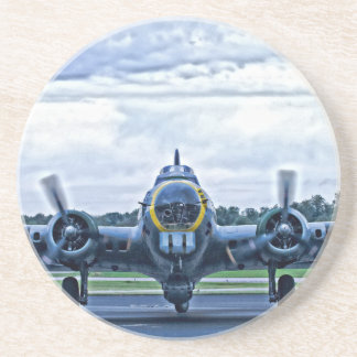 B17 Vintage Airplane Aircraft Flying Coaster