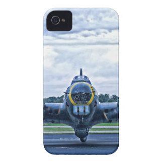 B17 Vintage Airplane Aircraft Flying iPhone 4 Cases