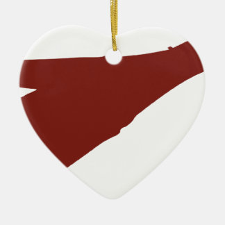B1-B Bomber Ceramic Heart Decoration