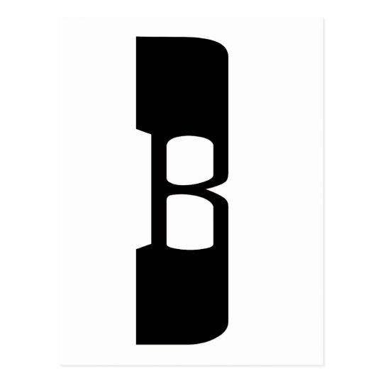 B1 POSTCARD