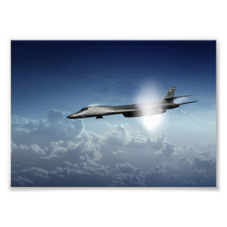 B1 Supersonic Photo Print