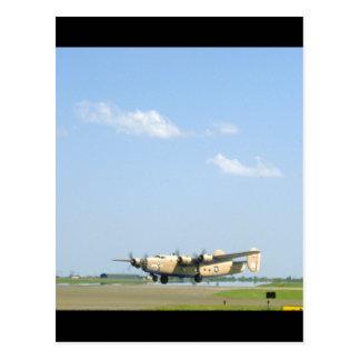 B24 Liberator. (plane;b24_WWII Planes Postcard