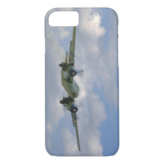 B25, In Flight, Front Angle_WWII Planes iPhone 7 Case