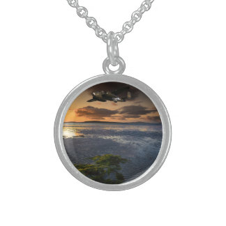 B25 Mitchell Round Pendant Necklace