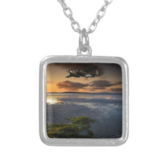 B25 Mitchell Square Pendant Necklace