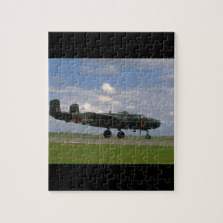 B25 On Ground, Right Side_WWII Planes Jigsaw Puzzle