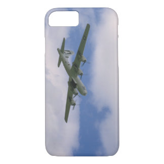 B29, Blue Sky And Clouds_WWII Planes iPhone 7 Case