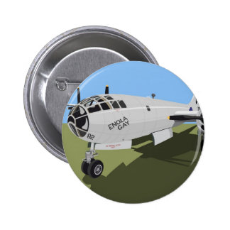 B29 Superfortress Bomber 6 Cm Round Badge
