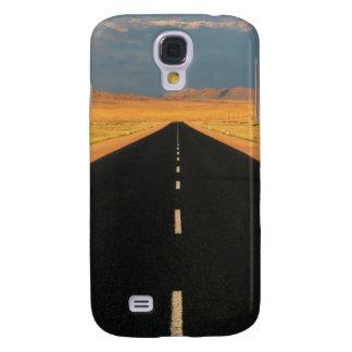 B4 National Road Through Desert, Near Aus Galaxy S4 Case