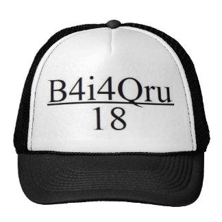 B4I4QRU Over 18 Cap