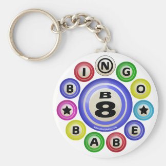 B8 Bingo Babe Key Ring