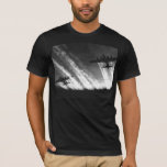 B-17 Flying Fortress 100% Cotton Black T-Shirt