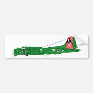 B-17 Flying Fortress-2 Bumper Stickers
