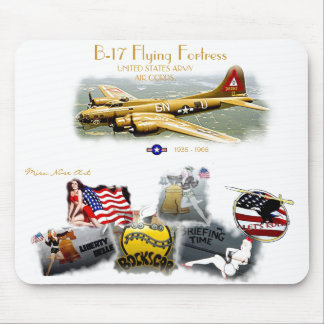 B-17 FLYING FORTRESS Misc Nose Art Mouse Pads