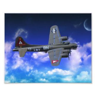B-17 Flying Fortress Photo Print