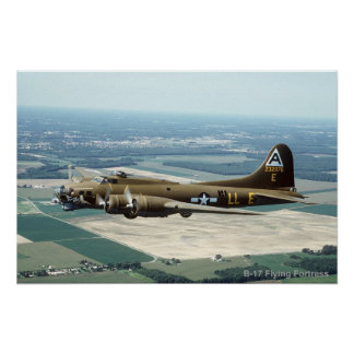 B-17 Flying Fortress poster 2