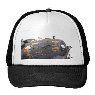 B-17 nose art mesh hats